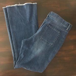 NWT a.n.a. Deep Sea Blue Flare Jeans